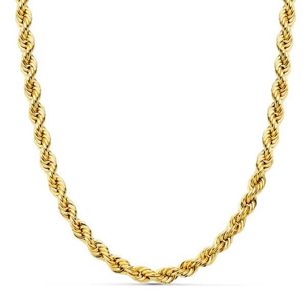 9cbbf91cb975 18001660 60CM CORDON ORO 18KTS para caballero. Cadena de oro modelo ...
